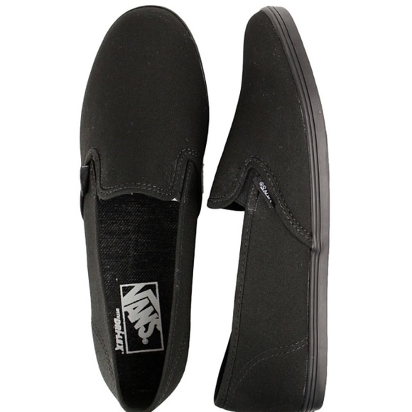 """572348a194 Black Vans Slip On """"Lo Pro"""" Sneakers. Like New. M 5aa41ccb6bf5a62fa3c85318"""